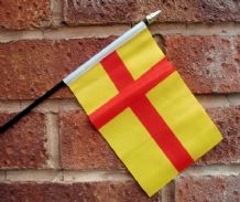 HAND WAVING FLAG (SMALL) - Orkney Islands (Pre 2007)